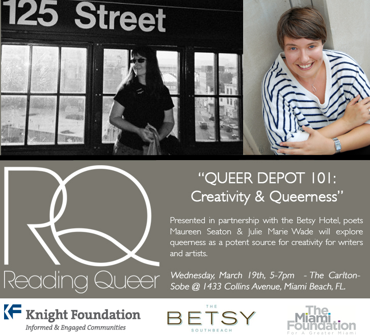 Inaugural Queer Depot 101: Creativity & Queerness at The Betsy-Sobe