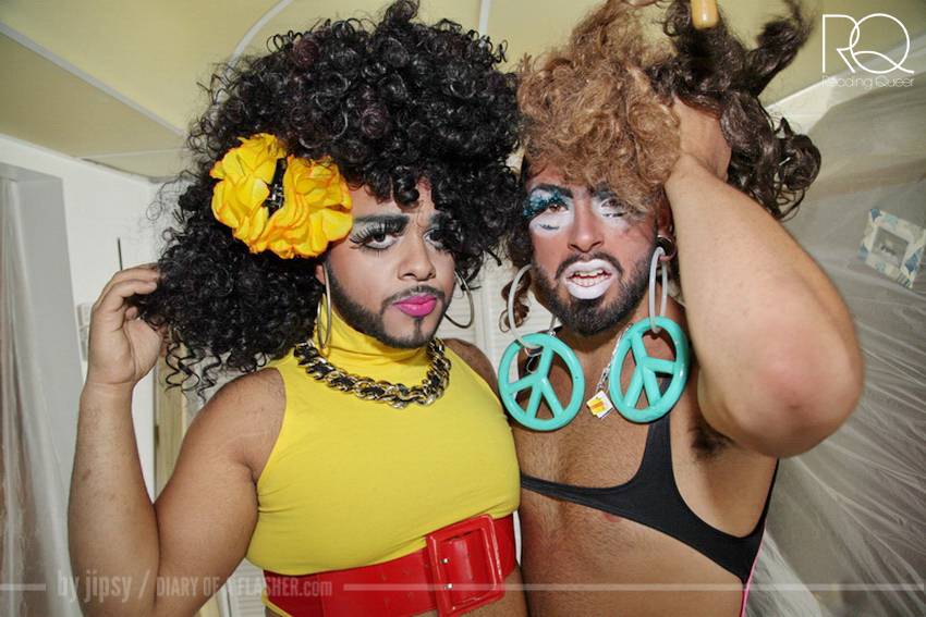 "Juleisy y Karla headline ""This is for the Ladies Who Brunch"" presented by Reading Queer."