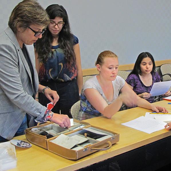 Carol Todaro leads workshop at University of Miami.