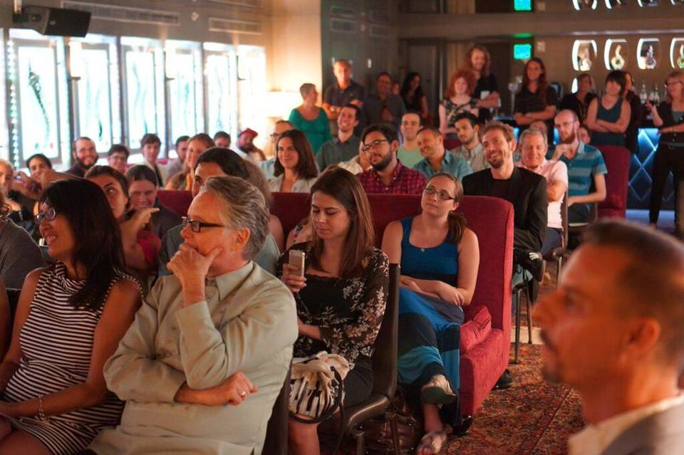 The Inaugural Reading for the 2014 Reading Queer Literary Festival took place at The Betsy Hotel in South Beach. | Courtesy of Jean-Paul Mallozzi