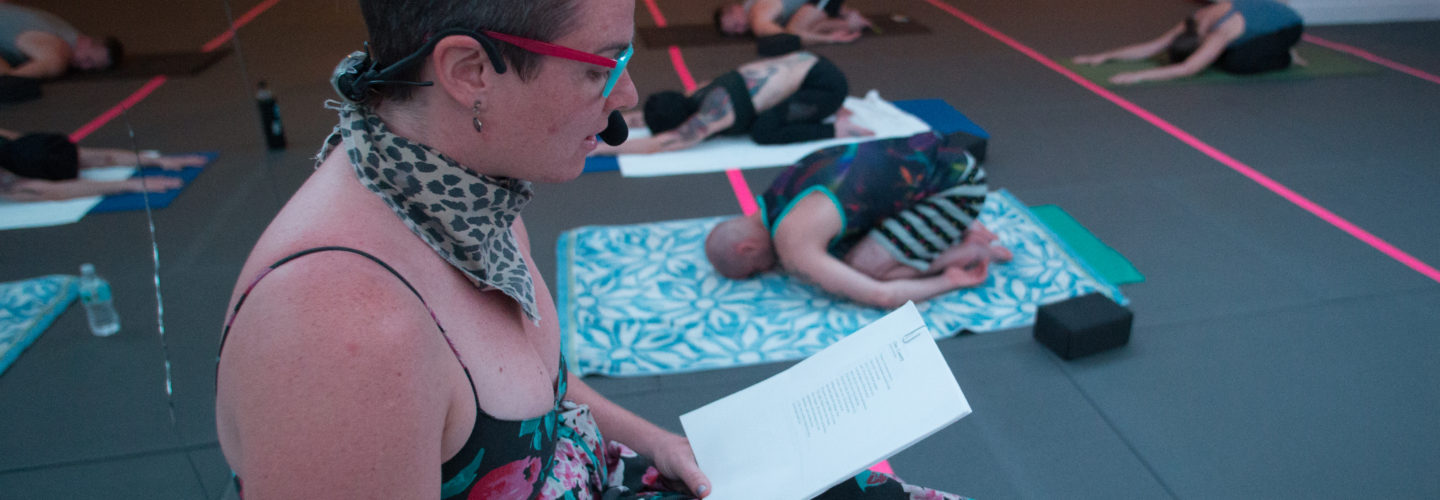 """""""I TALK TO MY BODY: A QUEER AND TRANS POETRY WORKSHOP FOR TRANS ART"""" with E. Parker Phillips"""