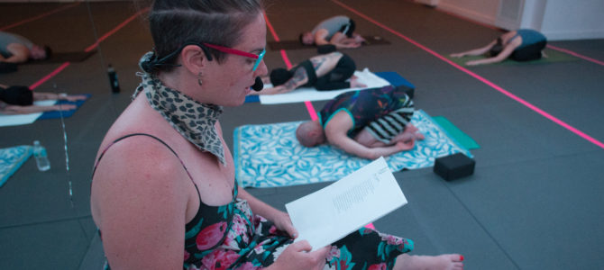 """I TALK TO MY BODY: A QUEER AND TRANS POETRY WORKSHOP FOR TRANS ART"" with E. Parker Phillips"