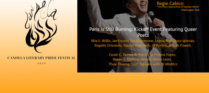 Paris Is Still Burning: A Kick Off Event Featuring Queer Poets