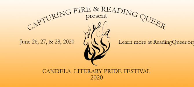 Reading Queer announces The Candela Literary Pride Festival 2020